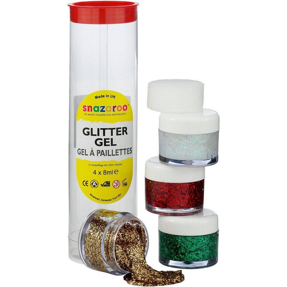 Snazaroo Glittergel-Set B, 4 Farben online kaufen