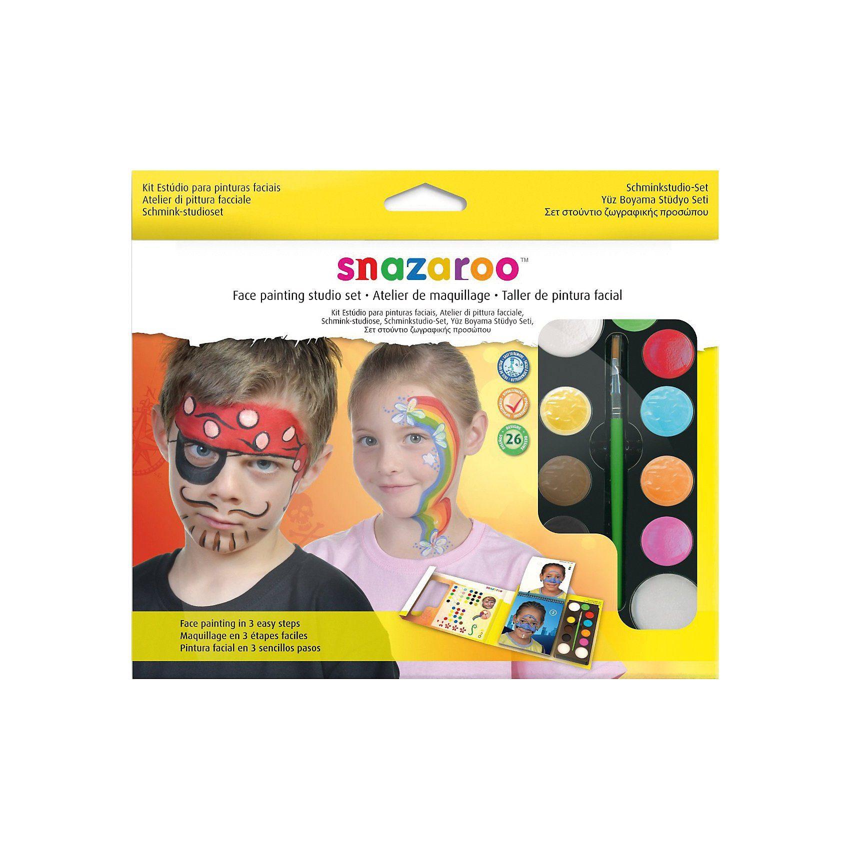 Snazaroo Face Painting Studio-Set