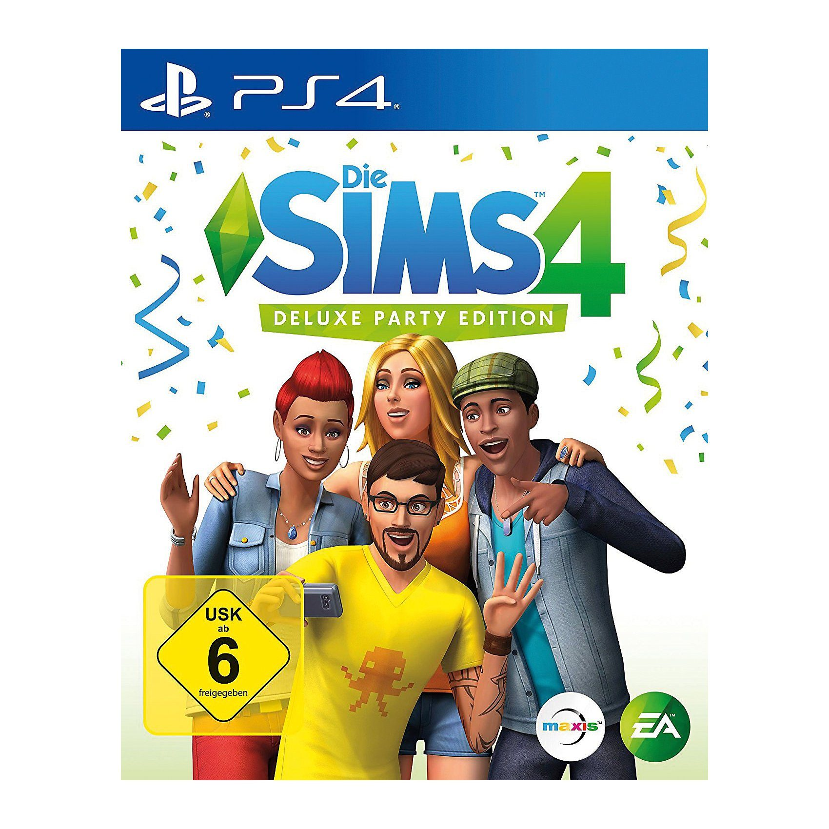 Electronic Arts PS4 Die Sims 4 - Deluxe Party Edition