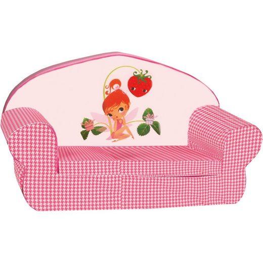 Knorrbaby Mini-Schlafsofa Girl, rosa