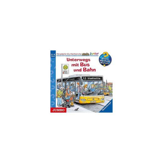 JUMBO Verlag WWW Unterwegs mit Bus und Bahn, 1 Audio-CD