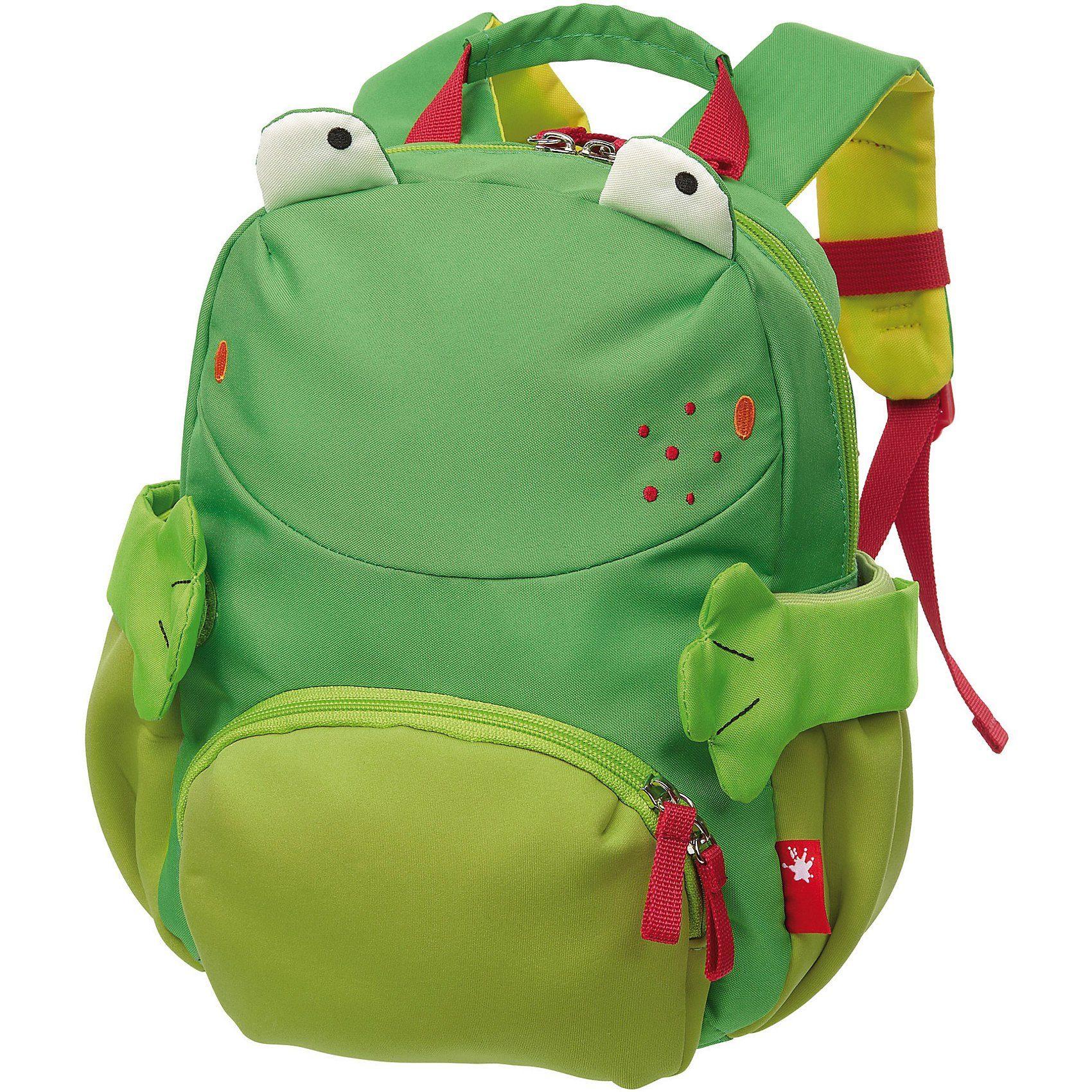 Sigikid Kinderrucksack Frosch