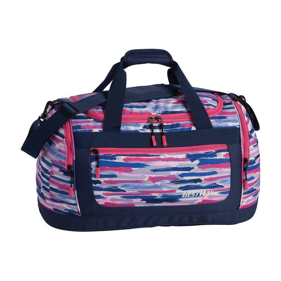 3779e94ab05d0 fabrizio® Sporttasche pink blau online kaufen