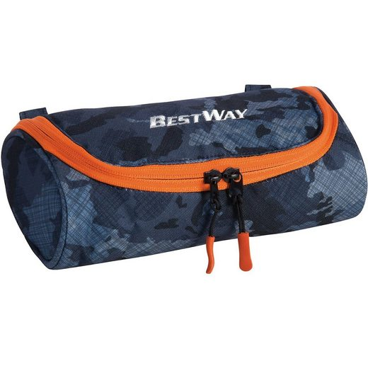 fabrizio® Etui-Box Evolution blau/orange