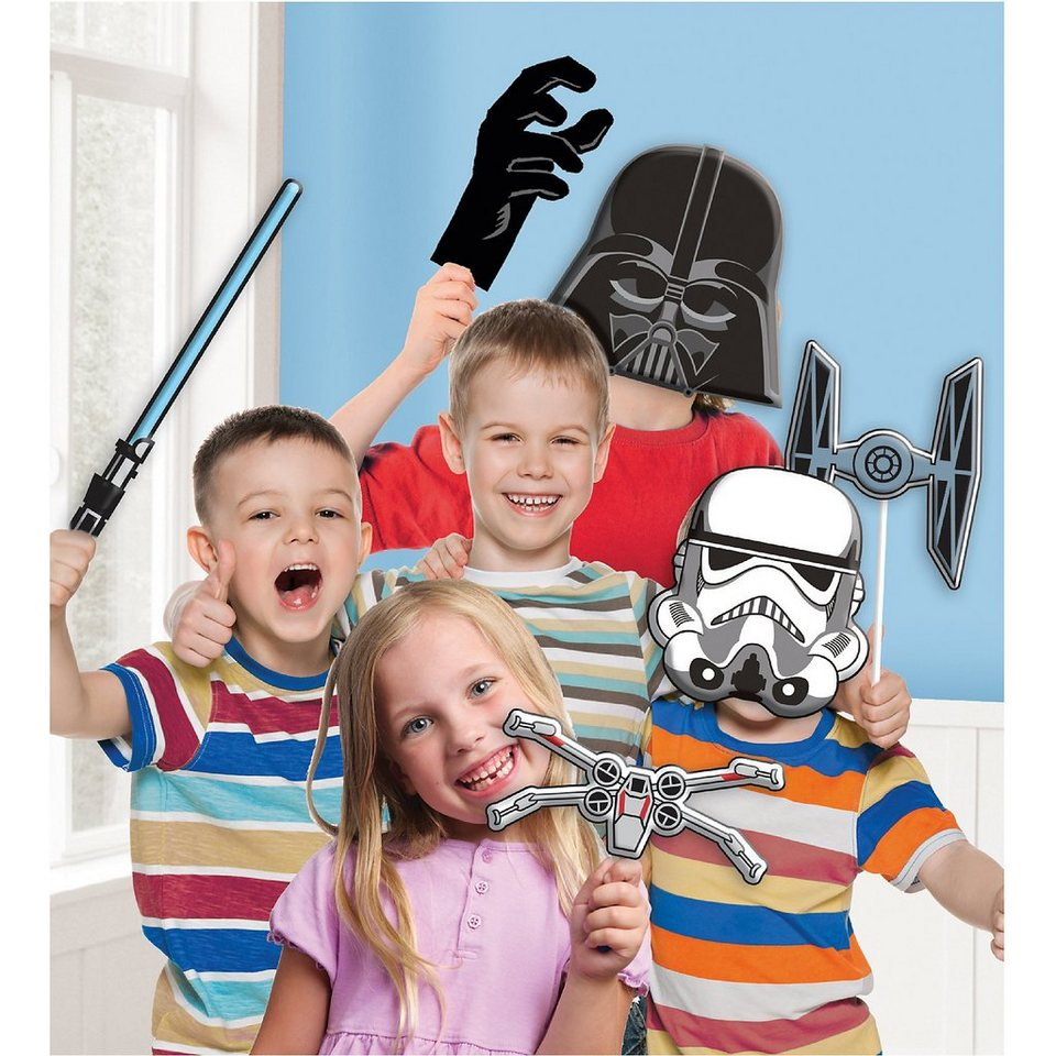 Amscan Fotorequisiten-Set Star Wars, 10-tlg.