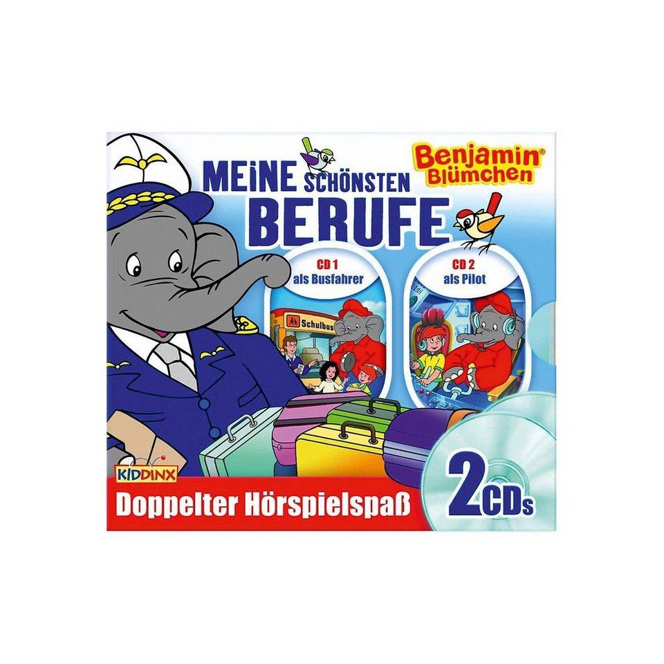 Kiddinx CD Benjamin Blümchen - Berufe-Box - als Pilot/als Busfahrer online kaufen