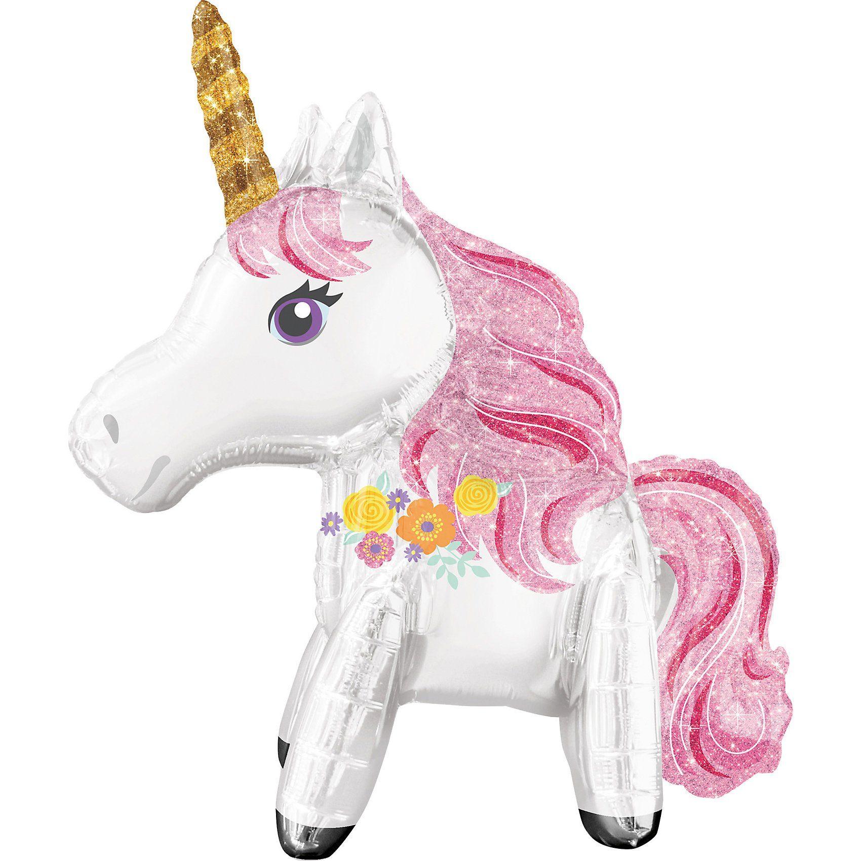 Amscan Multi-Folienballon Einhorn Magical Unicorn