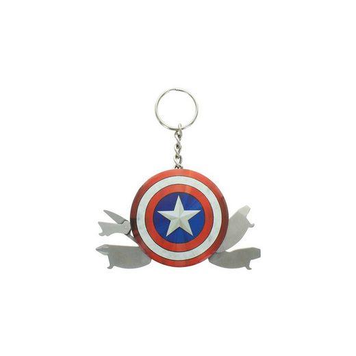 Marvel Avengers Captain America Multi Tool Schlüsselanhänger