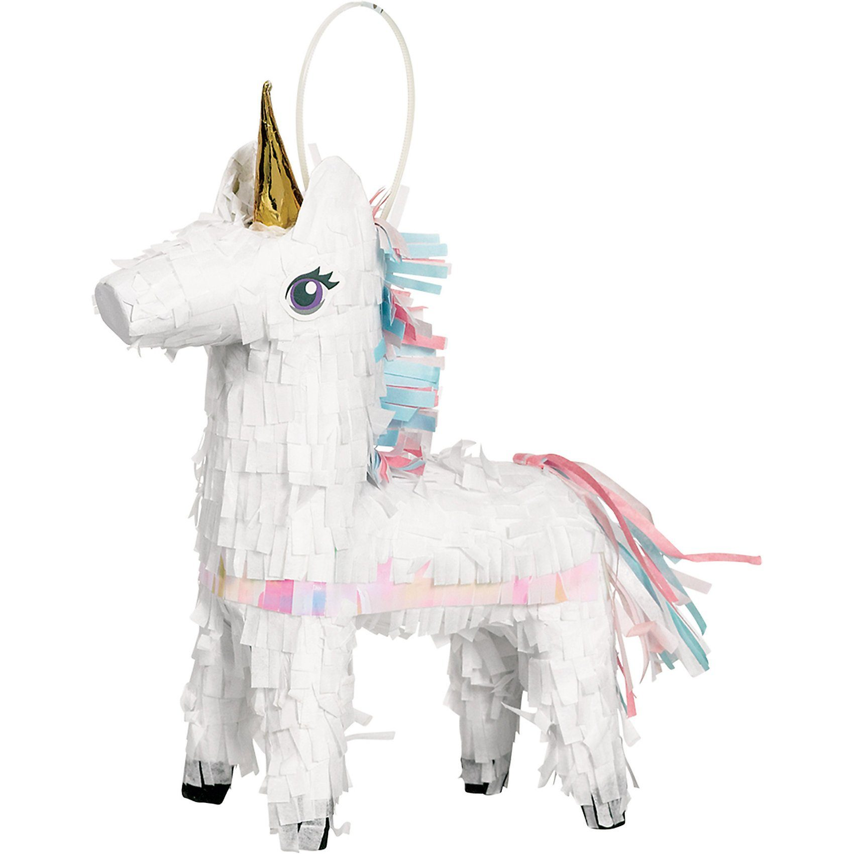 Amscan Mini Deko-Pinata Einhorn Magical Unicorn
