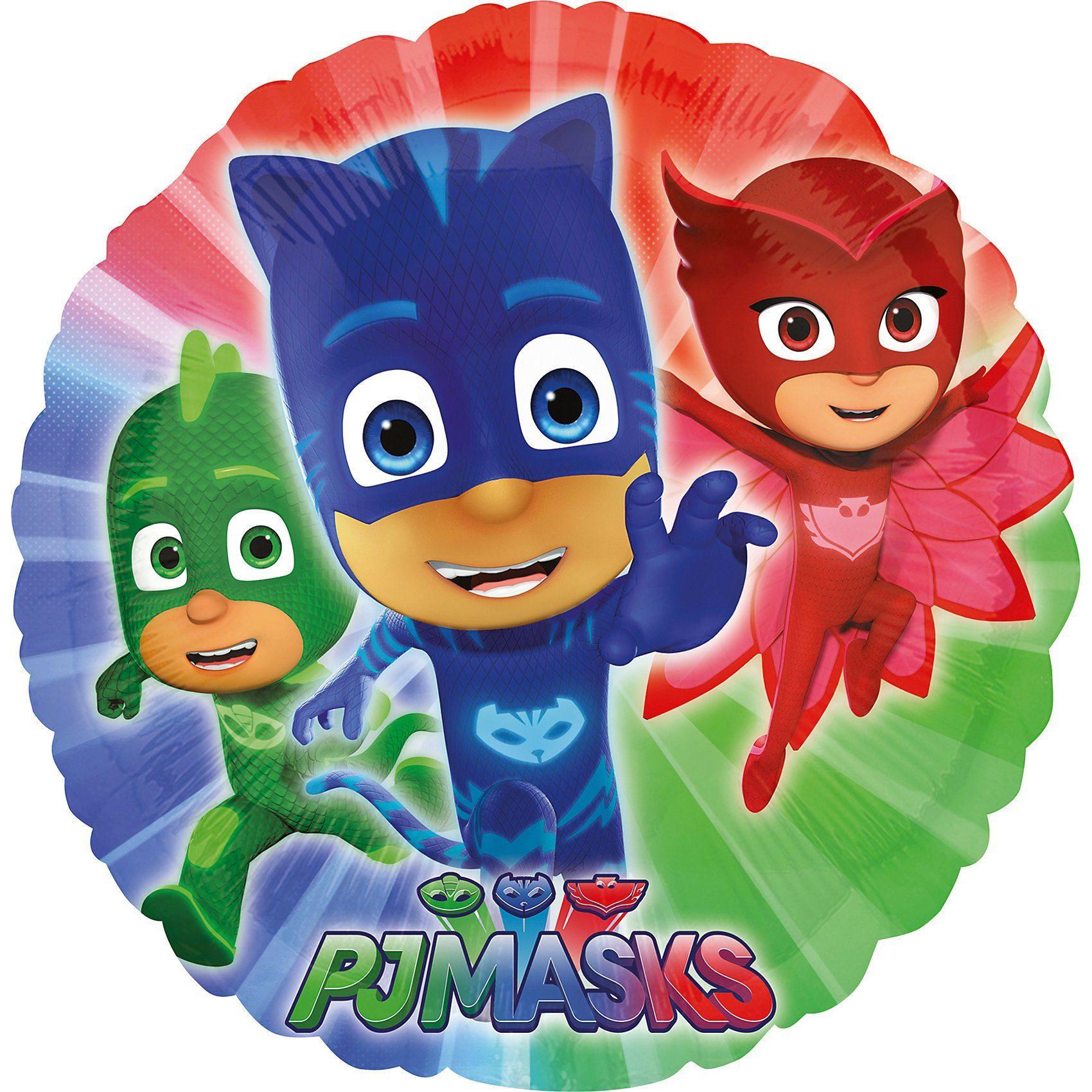 Amscan Folienballon PJ Masks, rund