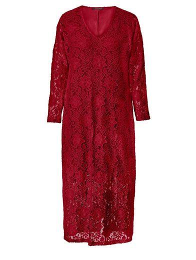 Sara Lindholm by Happy Size Kleid aus Spitze