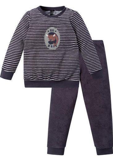 Schiesser Pyjama in langer Form