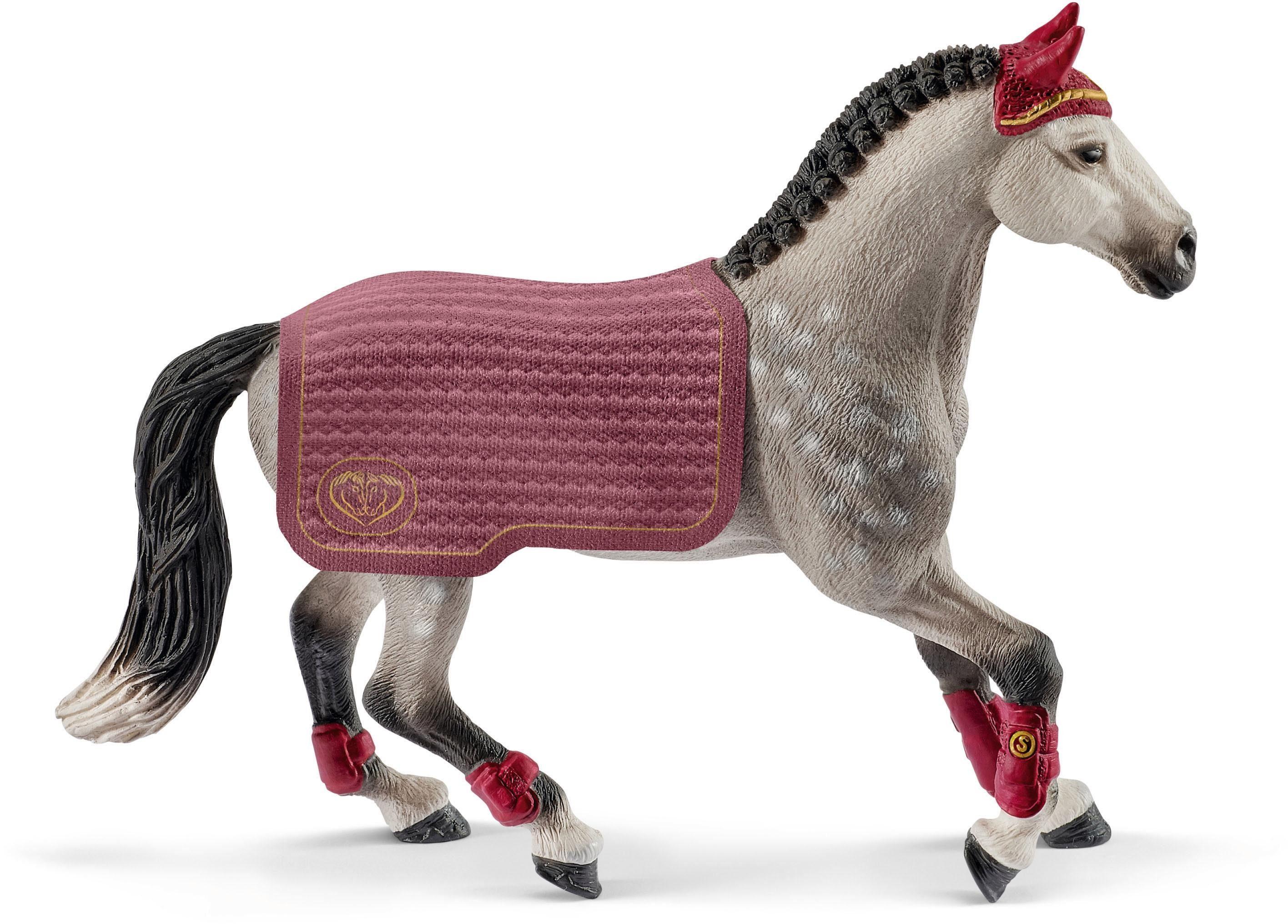 Schleich® Spielfigur (42456), »Horse Club, Trakehner Stute Reitturnier«