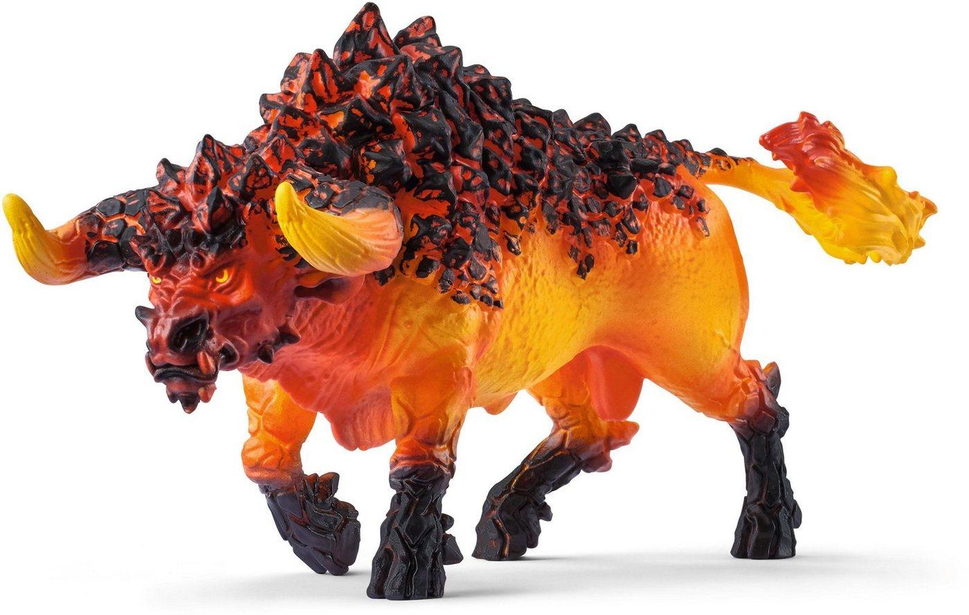 Schleich® Spielfigur (42493), »Eldrador Creatures, Feuerstier«