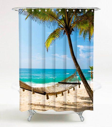 SANILO Duschvorhang »Holiday«, 180 x 180 cm