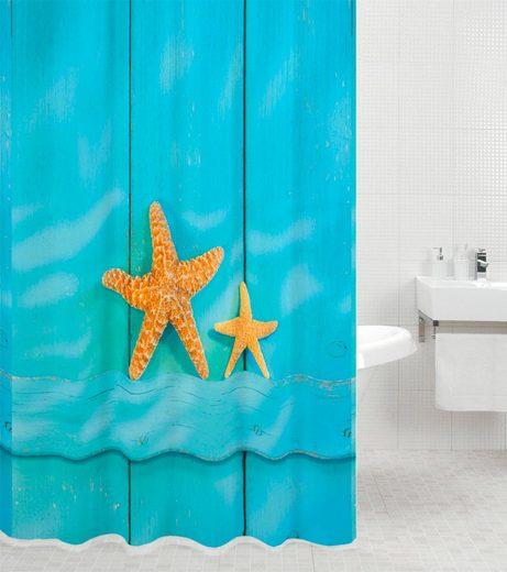 SANILO Duschvorhang »Starfish«, 180 x 180 cm