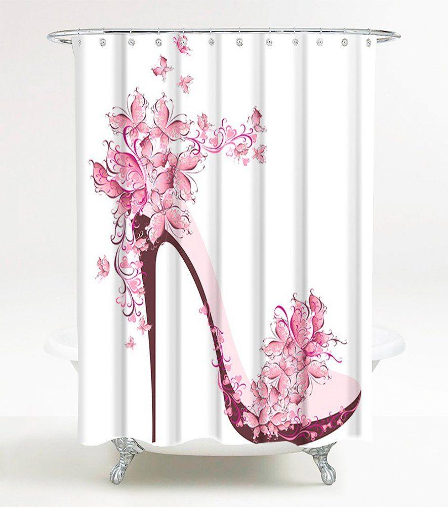 SANILO Duschvorhang »Schuh«, 180 x 180 cm