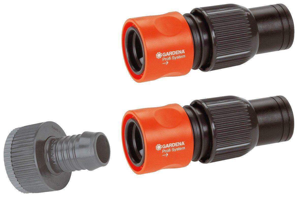 GARDENA Anschlusssatz »Profi-System, 01505-23«, für 19 mm (3/4'')-Schläuche