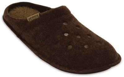 Crocs »Classic Slipper« Hausschuh mit kuscheliger Innensohle aus Warmfutter