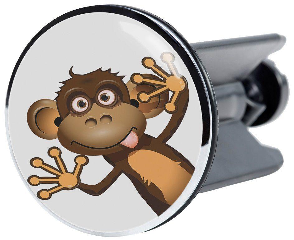 SANILO Stöpsel »Monkey«, für Waschbecken, Ø 4 cm
