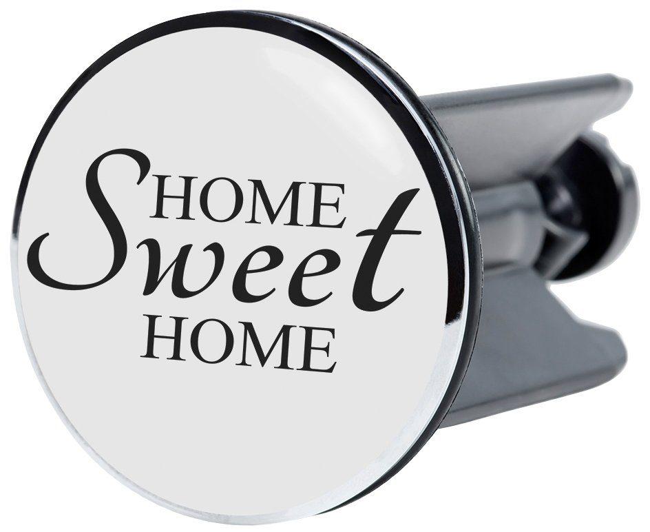 SANILO Stöpsel »Home Sweet Home«, für Waschbecken, Ø 4 cm