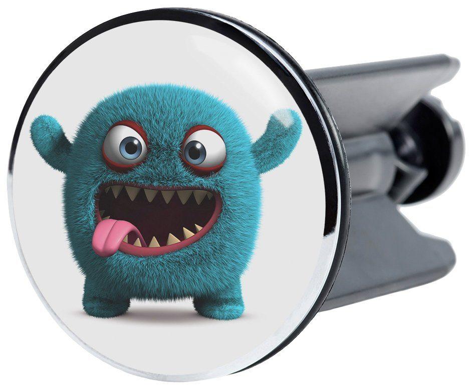 SANILO Stöpsel »Monster«, für Waschbecken, Ø 4 cm