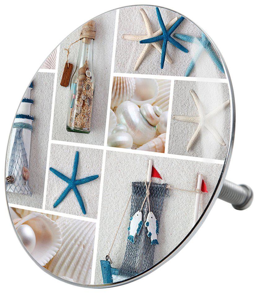 SANILO Stöpsel »Meeresbrise«, für Badewannen und Duschen, Ø 7,2 cm