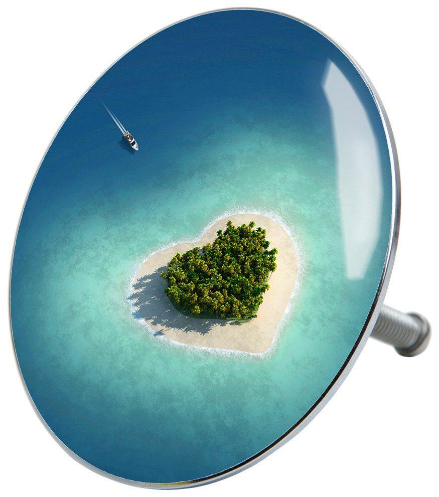 SANILO Stöpsel »Dream Island«, für Badewannen und Duschen, Ø 7,2 cm