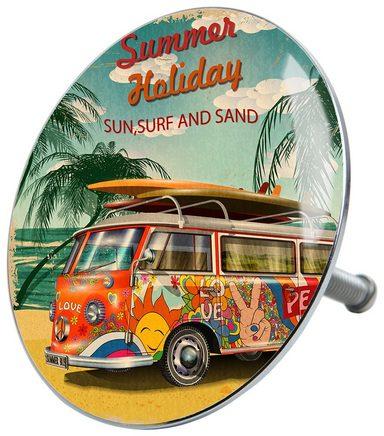 SANILO Stöpsel »Summer Bus«, für Badewannen und Duschen, Ø 7,2 cm