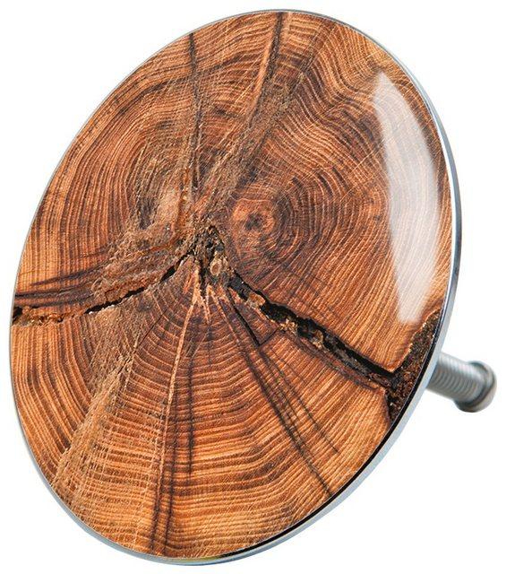 SANILO Stöpsel »Old Tree«, für Badewannen und Duschen, Ø 7,2 cm | Bad | Sanilo
