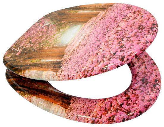 SANILO WC-Sitz »Romantik«, mit Absenkautomatik