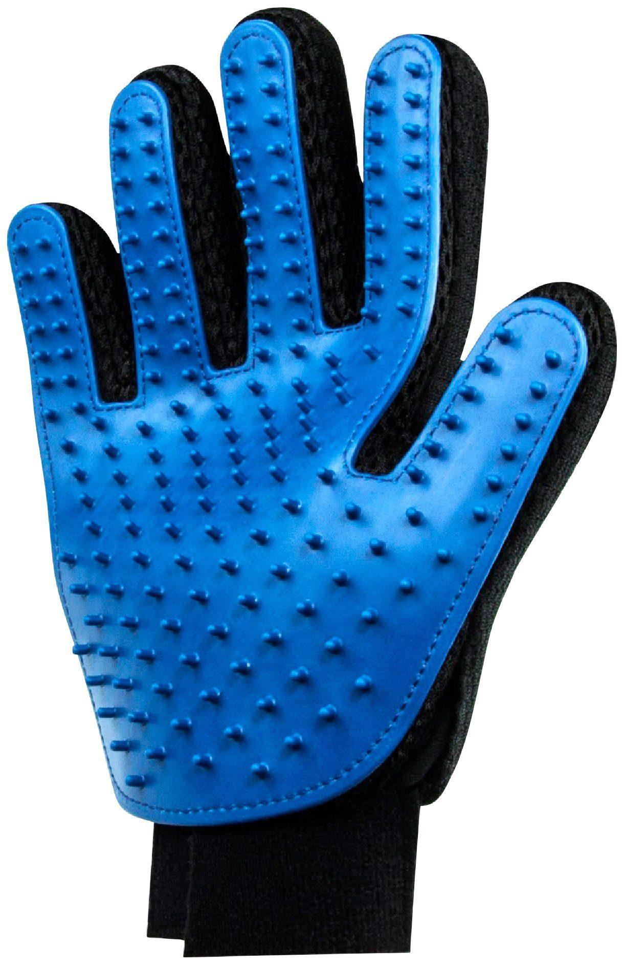 HEIM Fellpflege-Handschuh 2 Stück mit Gummiborsten