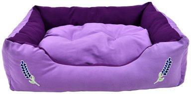 HEIM Hundebett und Katzenbett »Lavendel«, BxLxH: 58x75x19 cm