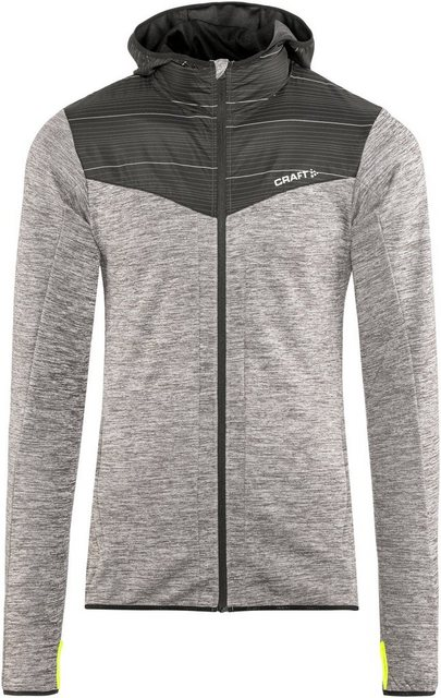 Craft Outdoorjacke »Breakaway Jacket Men« | Sportbekleidung > Sportjacken > Outdoorjacken | Grau | Jersey - Polyester | Craft