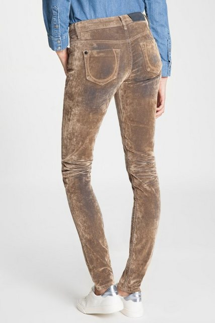 Hosen - BLUE FIRE Skinny Jeans »Tyra« › braun  - Onlineshop OTTO