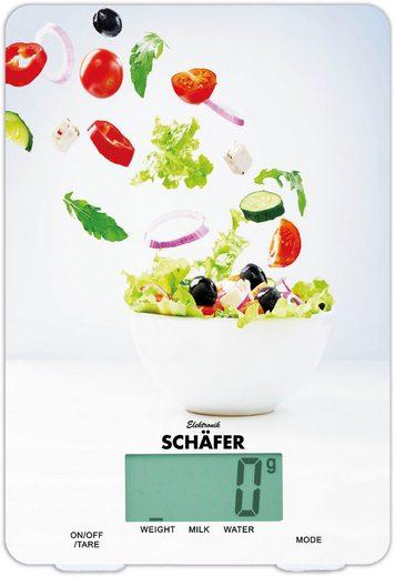 HTI-Living Digitale Küchenwaage »Salat Design«