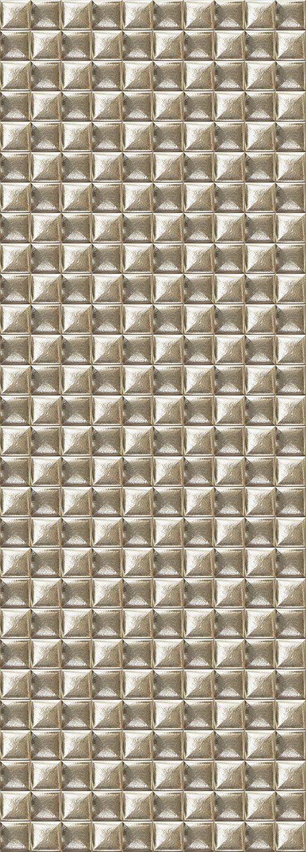 QUEENCE Vinyltapete »Golden Tiles«, 90 x 250 cm, selbstklebend