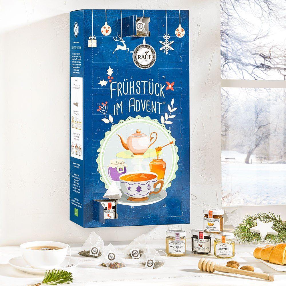 "Rauf Tee Rauf Tee-Adventskalender ""Frühstück im Advent"""