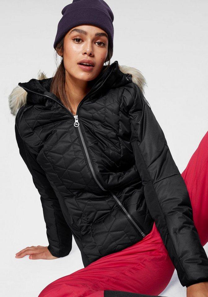 Damen Icepeak Skijacke CLAUDIA 2000 mm Wassersäule schwarz | 06413680183804