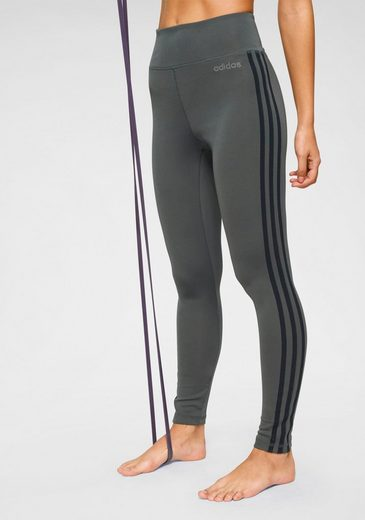 adidas Funktionstights »DESIGNED TO MOVE 3 STRIPES HIGH RISE«
