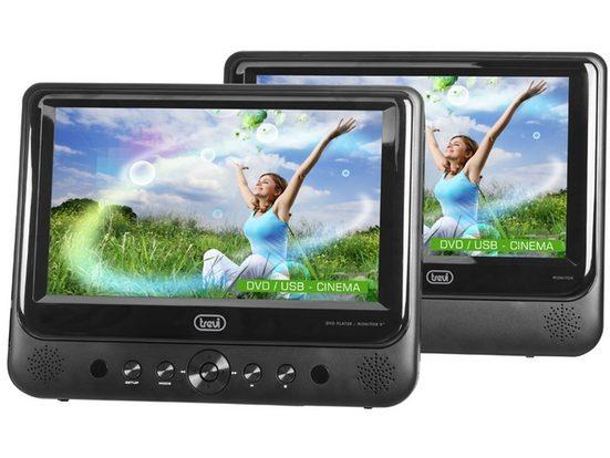 """Trevi Tragbarer 9"""" DVD-Spieler mit zweitem Bildschirm »TW 7005«"""