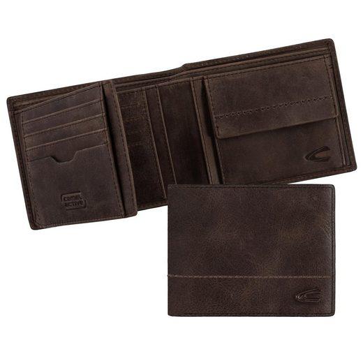 camel active Geldbörse »HANOI«  aus Leder mit RFID-Block für mehr Sicherheit