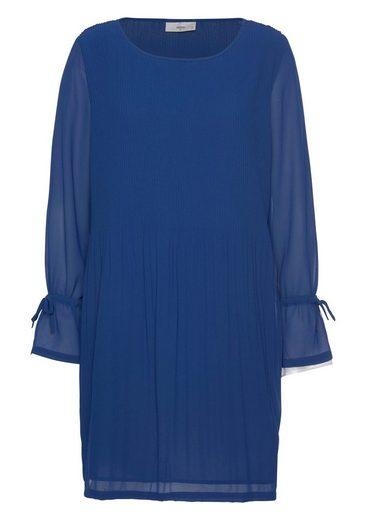minimum A-Linien-Kleid »Adah« mit tollen Plisseefalten