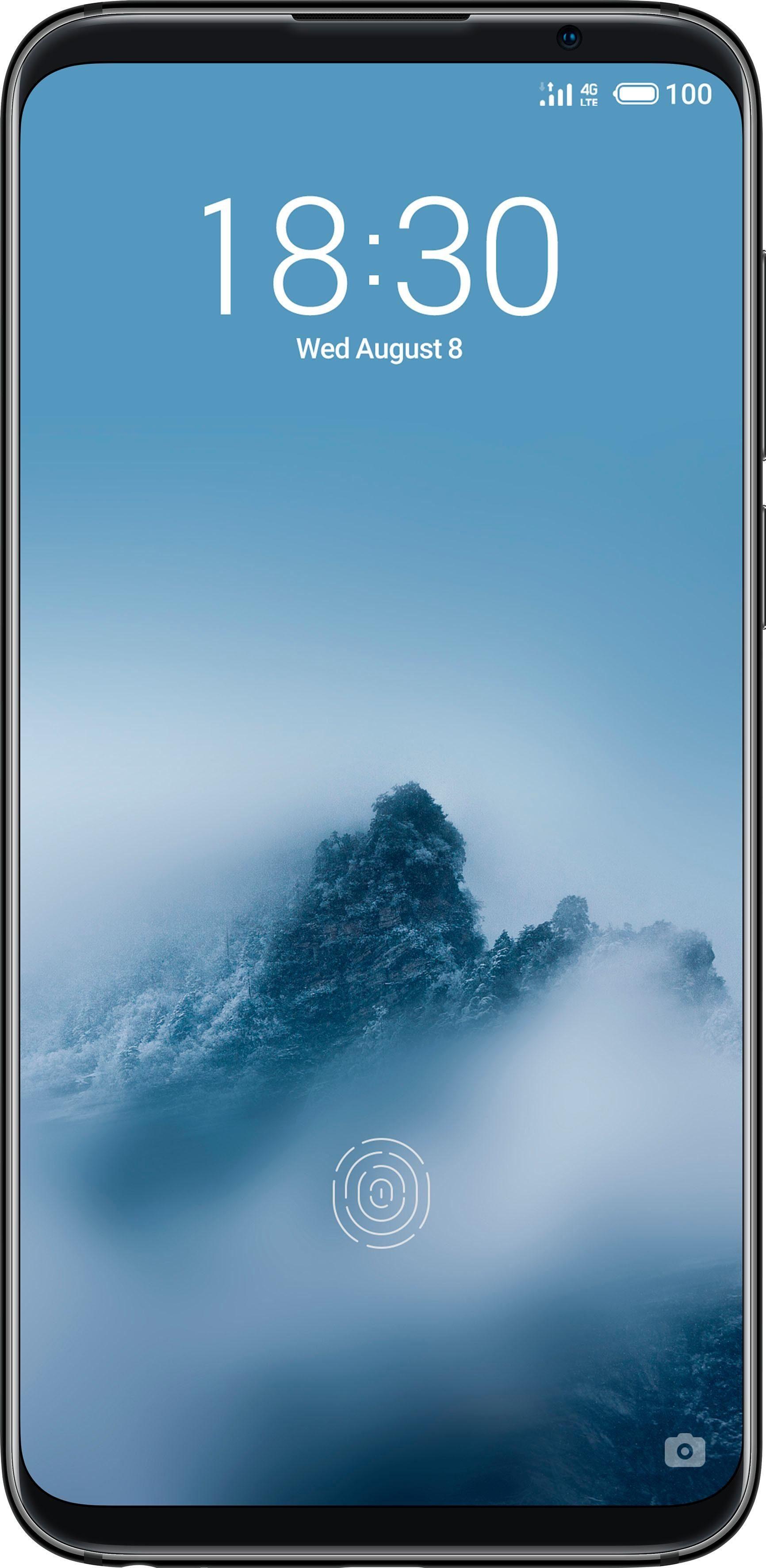 Meizu 16 th Smartphone (15,24 cm/6 Zoll, 128 GB Speicherplatz, 12 MP Kamera)