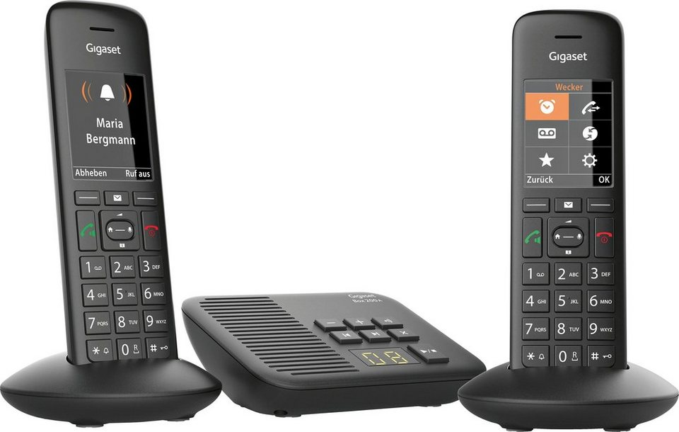 gigaset c570a duo schnurloses dect telefon mobilteile. Black Bedroom Furniture Sets. Home Design Ideas