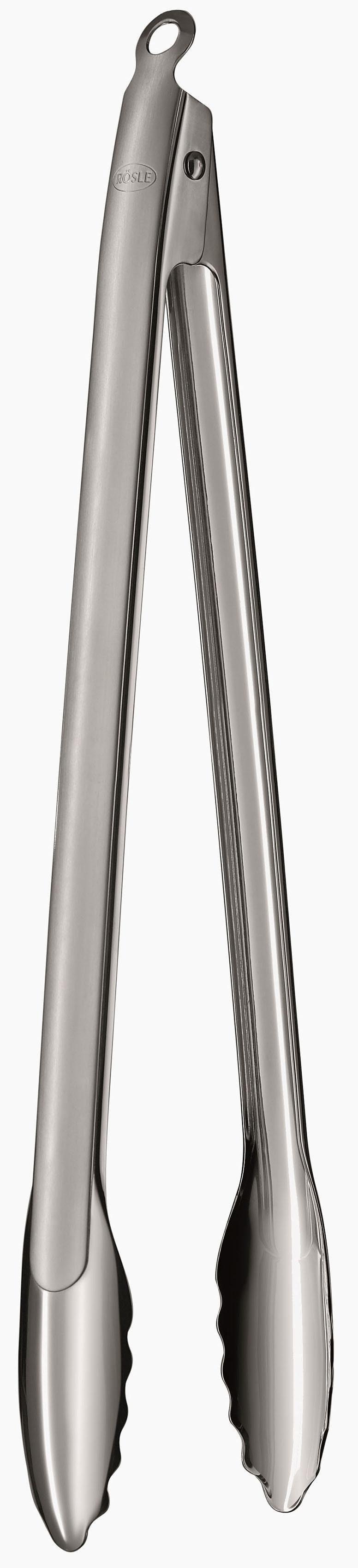 RÖSLE BBQ Grillzange, 40 cm, Edelstahl 18/10