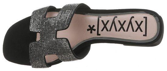 Xyxyx Bandage Mit Funkelnder Bandage Funkelnder Mit Xyxyx Pantolette Pantolette HqBBTxI