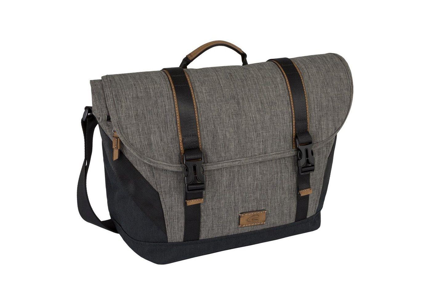 camel active Messenger Bag »INDONESIA«, mit Laptopfach | Taschen > Business Taschen > Messenger Bags | Grau | camel active