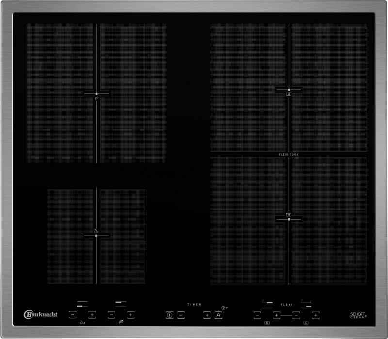 BAUKNECHT Flex-Induktions-Kochfeld von SCHOTT CERAN® CTAI 9640FS IN, mit Schmelz- und Warmhalte-Funktion