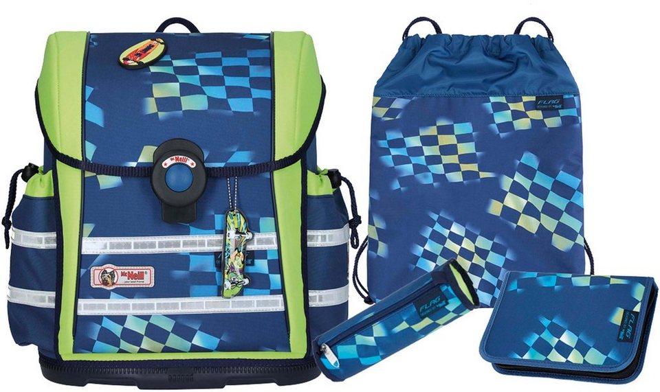 McNeill Schulranzen Set (4-tlg.) mit einem McTaggie,  ERGO Light 912 S, Flag  online kaufen